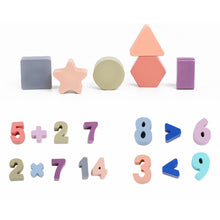 Load image into Gallery viewer, Geometric Shape and Number Cognition Toy