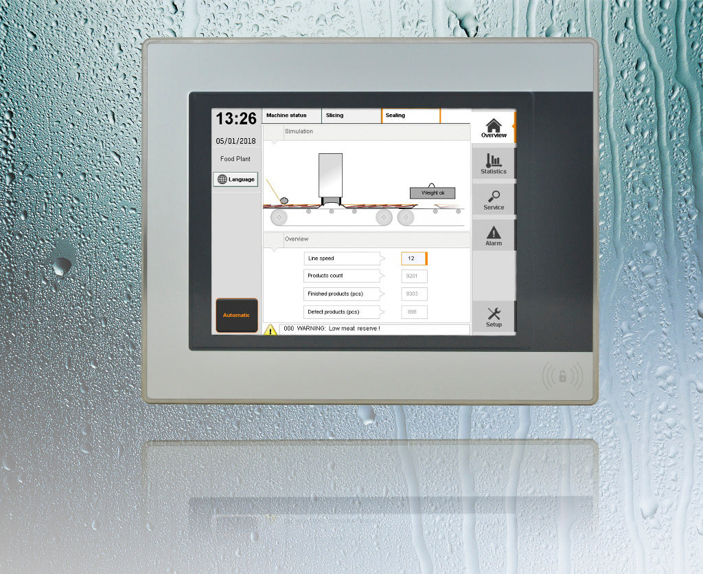 Automation Panel - Hygienic stainless steel design