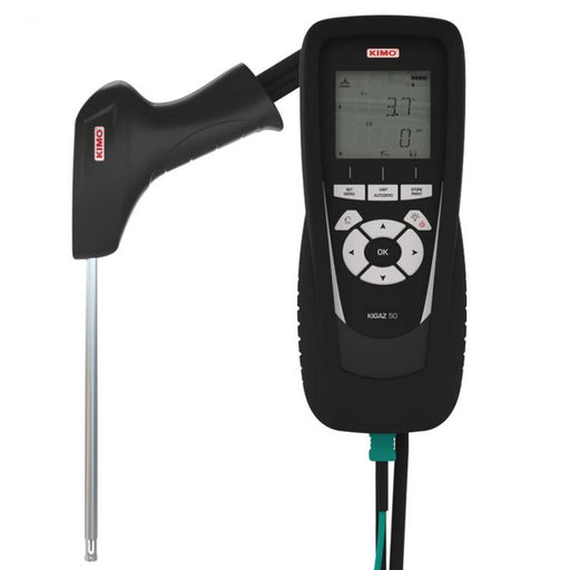 KIGAZ 50: Combustion gas analyser