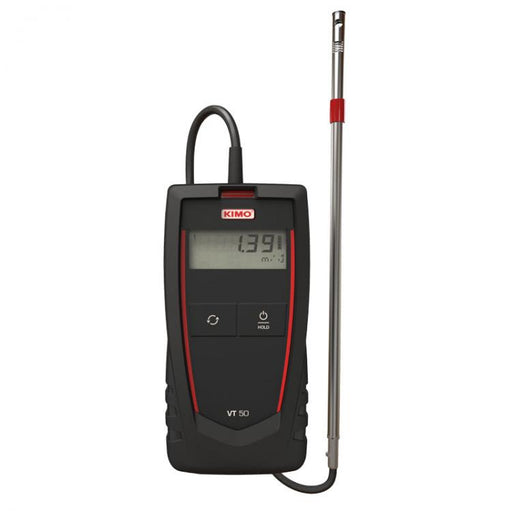 VT 50: Thermo-anemometer with hotwire probe