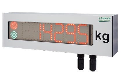RIPLEDIP65 : Six-Digit Remote Display (h 75 mm)