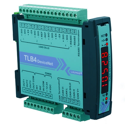 TLB4 DEVICENET : Digital Weight Transmitter (RS485 - DeviceNet )