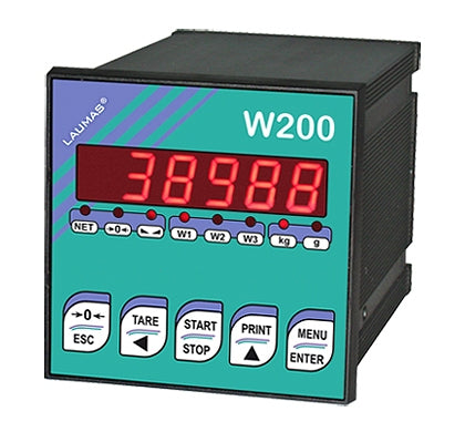 W200: WEIGHT INDICATOR (for weighing and batching)