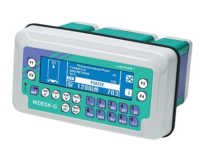 WDESK-G : IP67 Weight Indicator (for weighing and batching)