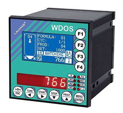 WDOS : 	Weight Indicator (for weighing and batching)