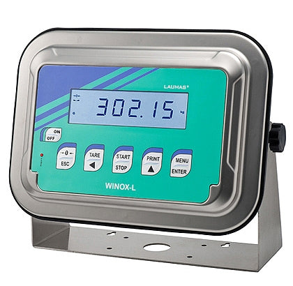WINOX-L : Stainless Steel IP68 Weight Indicator (for weighing and batching)