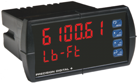 ProVu Strain Gauge, Load Cell & mV Digital Panel Meter