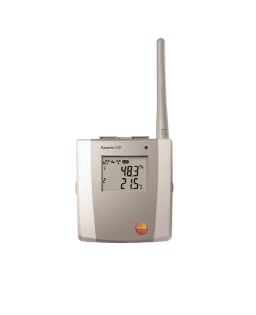 Testo Saveris H3 D - 2-channel temperature/humidity radio probe, with display
