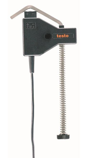 Temperature probe with clamping bracket (TC Type K)