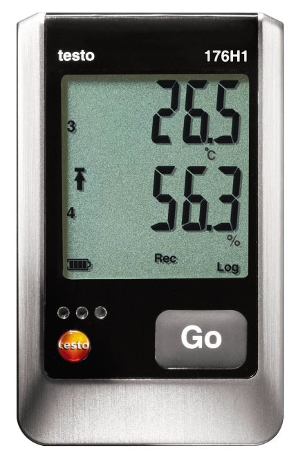 Testo 176H1 - Temperature and humidity data logger