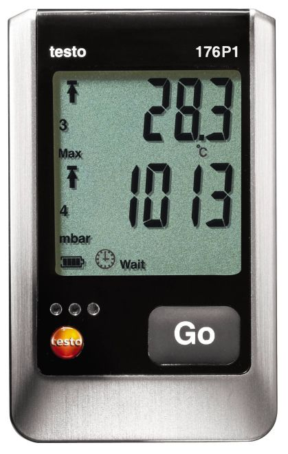 Testo 176 P1 - Absolute pressure, temperature and humidity data logger