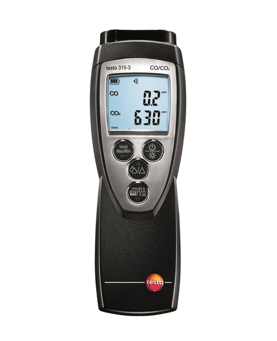 Testo 315-3 - CO and CO2 meter for ambient measurements