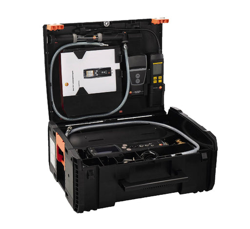 Pro set testo 324 - Pressure and leakage measuring instrument