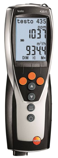 Testo 435-1 - Multi-function climate measuring instrument