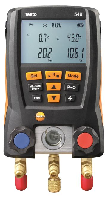 Testo 549 - Entry-level digital manifold
