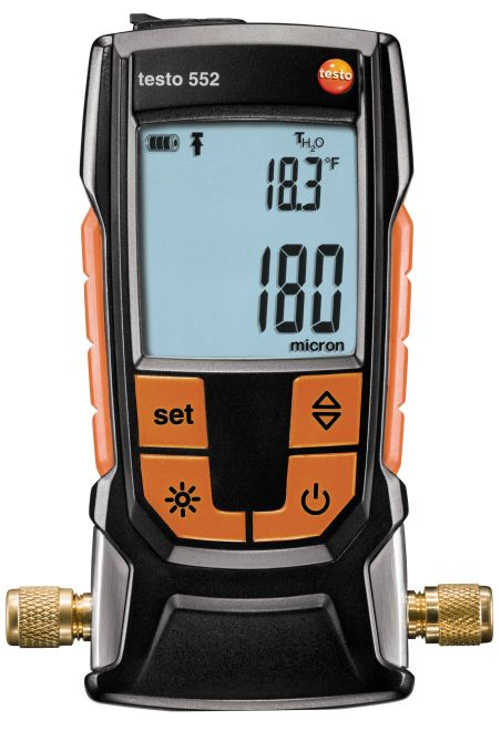 Testo 552 - Digital vacuum gauge with Bluetooth