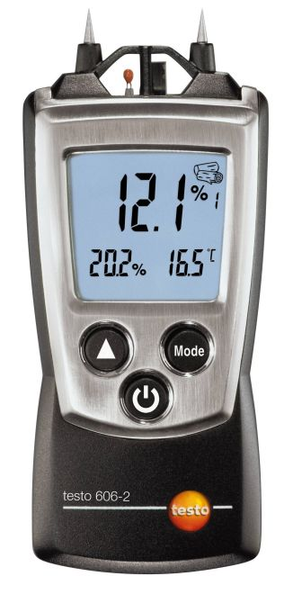 Testo 606-2 - Moisture meter for material moisture and relative humidity