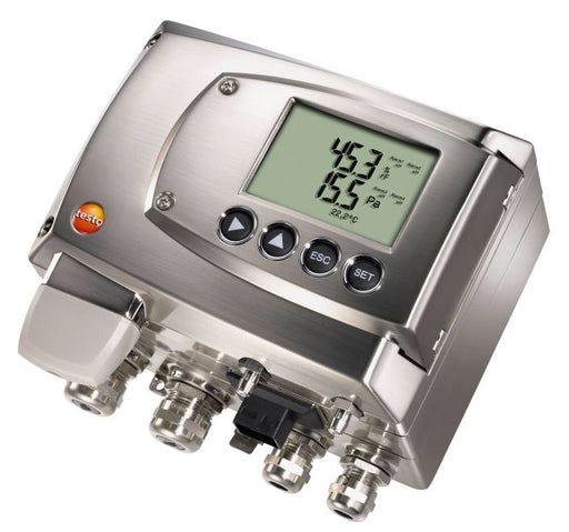 Testo 6381 - differential pressure transmitter with flow calculation