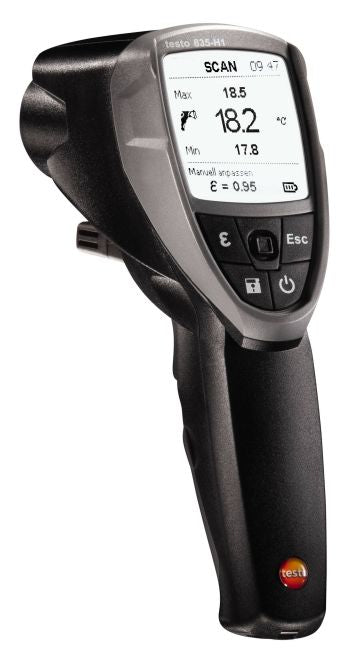 Testo 835-H1 - Infrared thermometer and moisture meter