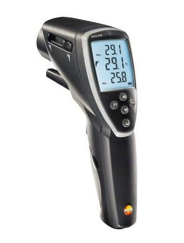 Testo 845: Infrared temperature measuring instrument with integrated humidity module
