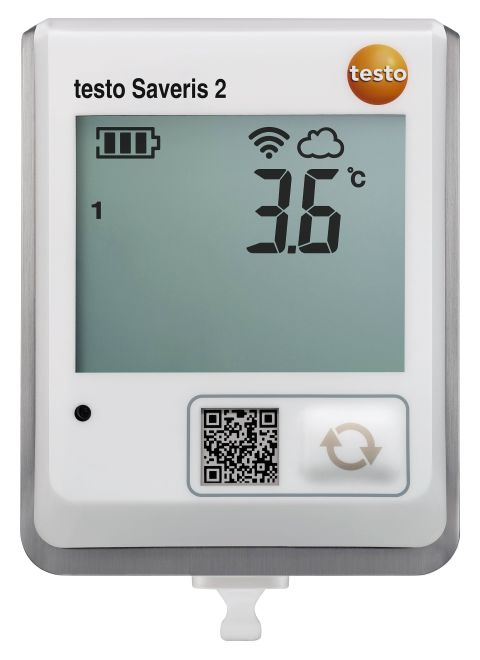 Testo Saveris 2-T1 - WiFi data logger with display and integrated NTC temperature probe