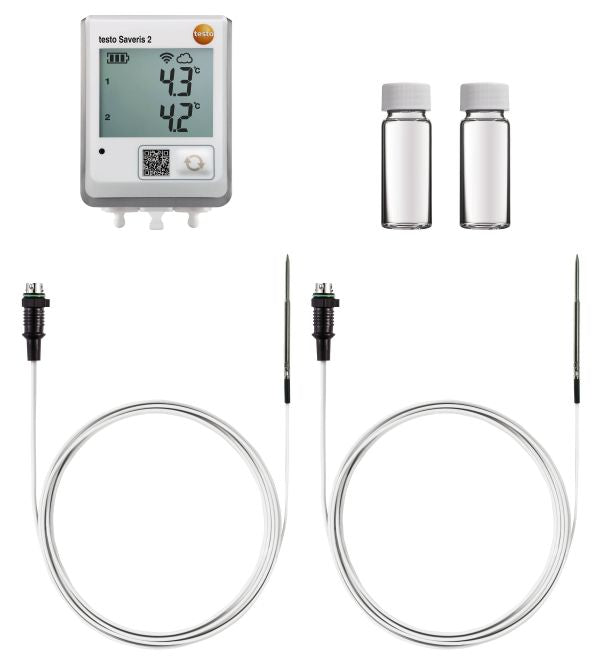 Testo Saveris 2 - set for temperature monitoring in refrigerators