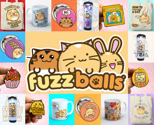Official fuzzballs merch!
