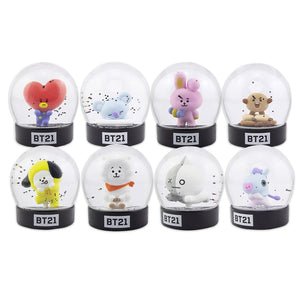 BT21 Character Figure Snow Globe Collectables - Sweetie Kawaii