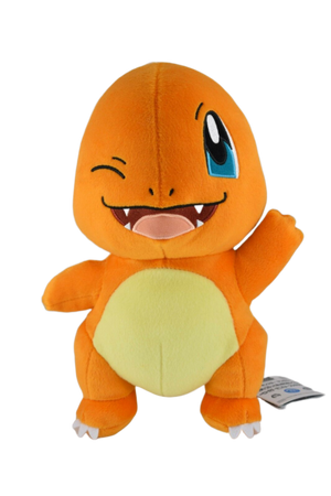 Banpresto Winking Charmander Pokemon Plush (Japanese Exclusive) Plush - Sweetie Kawaii