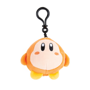 Kirby Club Mocchi-Mocchi Plush Kirby Clip On Keychain