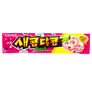 Crown Saekom Dalkom Peach Flavoured Candy