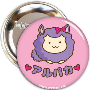 Fuzzballs Alpaca Love Badge