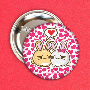 Fuzzballs Bunny Love Badge