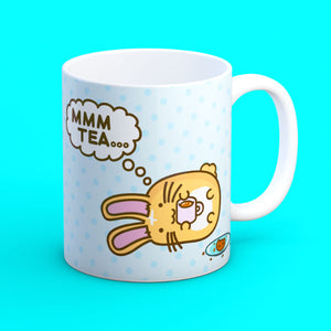 Fuzzballs Mmm Tea Bunny Mug Homeware & Kitchen - Sweetie Kawaii