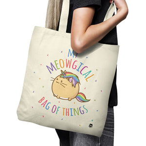 Fuzzballs My Meowgical Bag of Things Tote Bag Bags & Wallets - Sweetie Kawaii