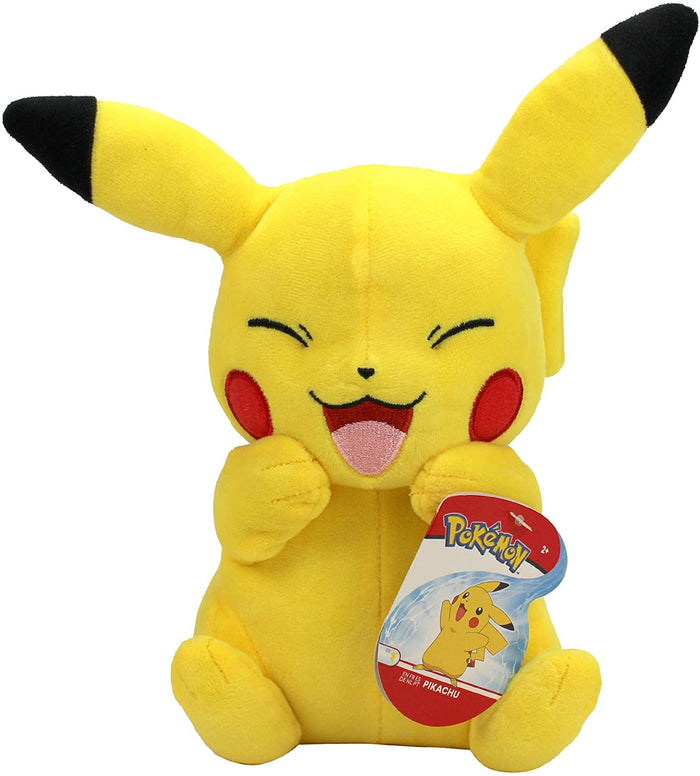 Happy Pikachu Plush Figure