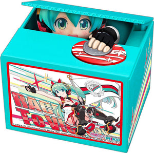Hatsune Miku GT Project PVC Talking Coin Bank Racing Miku 2020 Ver. Chatting Bank 006