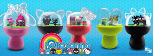 Hello Sanrio Capsule Diorama with Figures - Badtz Maru Collectables - Sweetie Kawaii