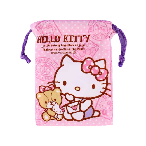 Hello Kitty Sanrio Mini Drawstring Bag