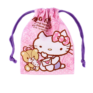 Hello Kitty Sanrio Mini Drawstring Bag Bags & Wallets - Sweetie Kawaii