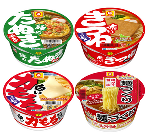 Instant Noodle Bowl Snack Pack Set