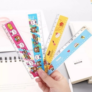 Happy Animal Friends Ruler