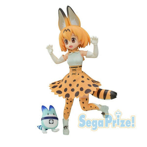 Kemono Friends Serval & Lucky Beast Figure