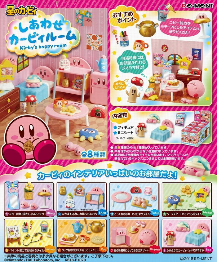 Re-ment Kirby's Happy Room Collection