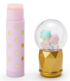 Sanrio Snow Globe Strawberry Lip Cream - Little Star Twins Cosmetics - Sweetie Kawaii
