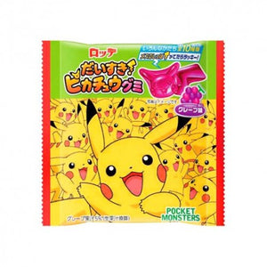 Lotte Daisuki Love Pikachu Grape Gummy Candy