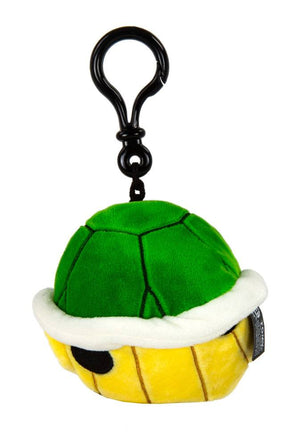 Mario Kart Mocchi-Mocchi Clip On Plush Hanger Green Shell Keychain Collectables - Sweetie Kawaii