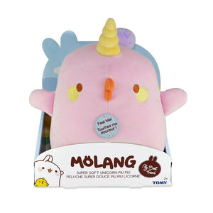 Molang Super Soft Plush - Unicorn Piu Piu