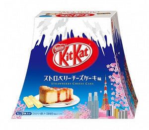 Mount Fuji Strawberry Cheesecake Kit Kat Box