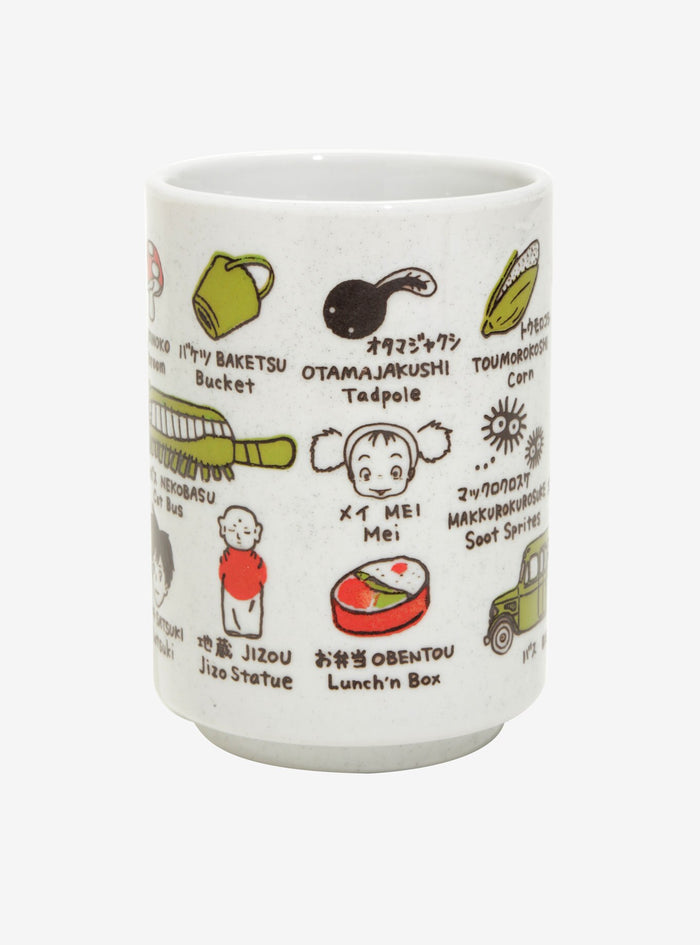 Studio Ghibli My Neighbour Totoro Japanese Tea Cup (Japanese Exclusive)
